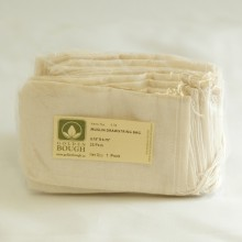 "Tea Bags Muslin Drawstring 2 3/4"" x 4 3/4"" - 25 Pack"